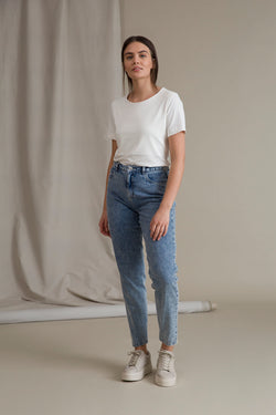 HOLLY Farkut sininen denim