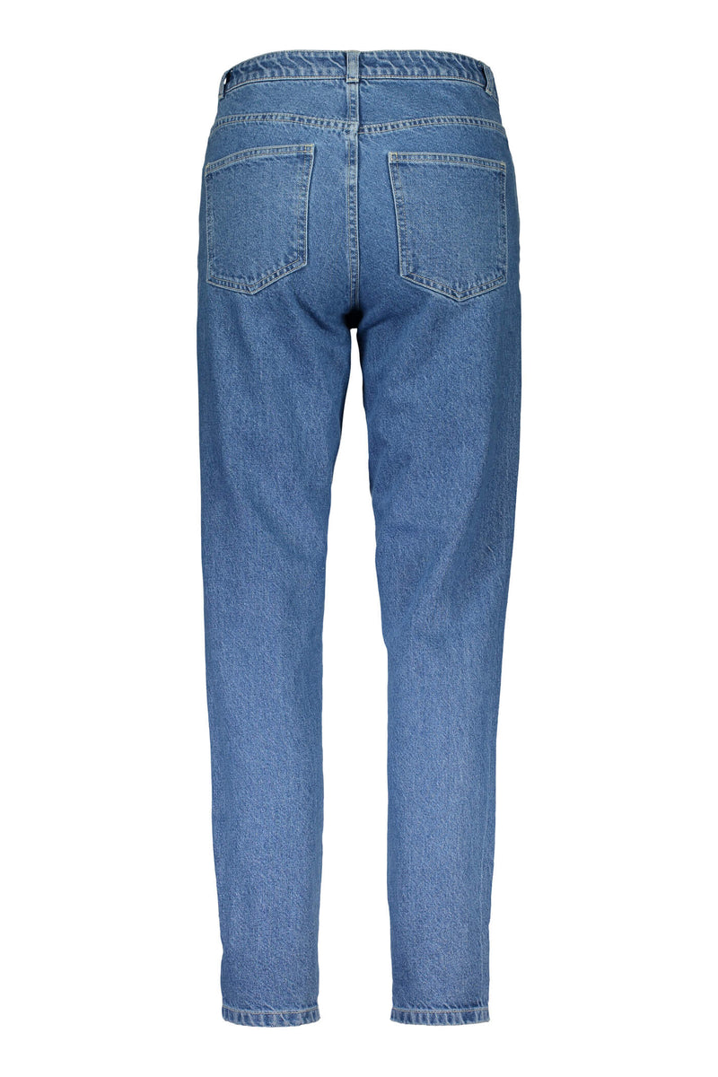 Voglia Holly viistaskufarkut sininen denim taka