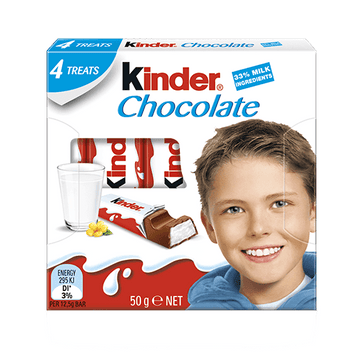 ADD ON: Kinder Chocolate 4 Treats