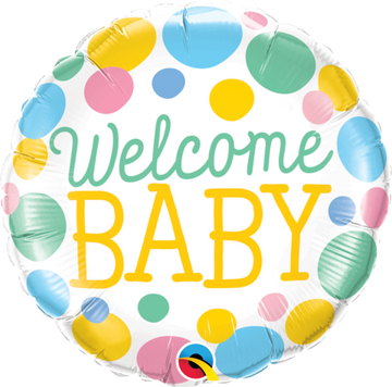 ADD ON: Welcome Baby Balloon (Auckland Only)-Gift Boxes and sweet treats New Zealand wide-Celebration Box NZ