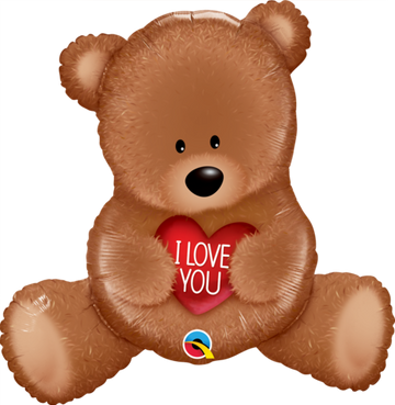 ADD ON: Teddy Bear Balloon (Auckland Only)-Gift Boxes and sweet treats New Zealand wide-Celebration Box NZ
