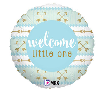 ADD ON: Welcome Little One Blue Balloon