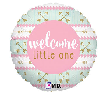 ADD ON: Welcome Little One Pink Balloon