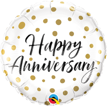 ADD ON: Happy Anniversary Balloon (Auckland Only)-Gift Boxes and sweet treats New Zealand wide-Celebration Box NZ