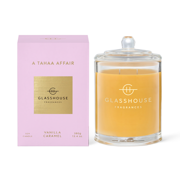 Glasshouse Fragrances A Tahaa Affair Candle 380g