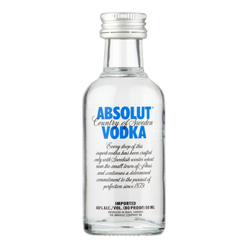 ADD ON: Miniature Absolut Vodka 50ml-Gift Boxes and sweet treats New Zealand wide-Celebration Box NZ
