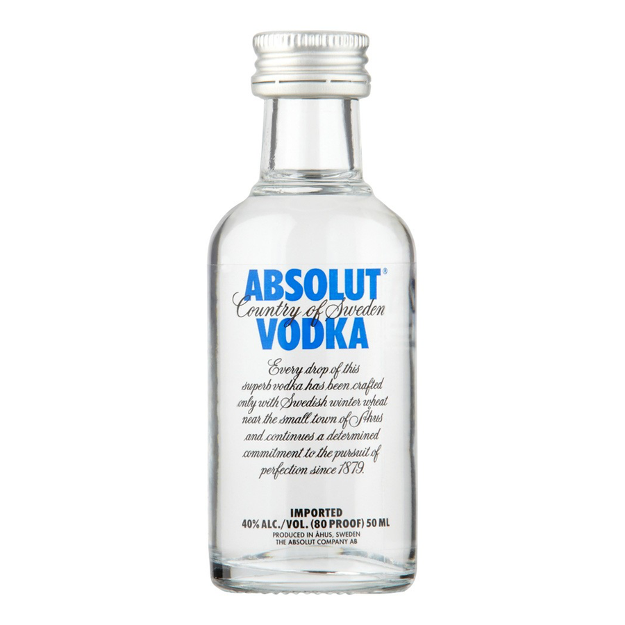 ADD ON: Miniature Absolut Vodka 50ml