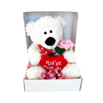 The Love Teddy-Gift Boxes and sweet treats New Zealand wide-Celebration Box NZ