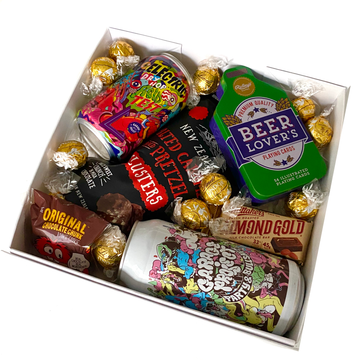Beer Lover's Box-Gift Boxes and sweet treats New Zealand wide-Celebration Box NZ
