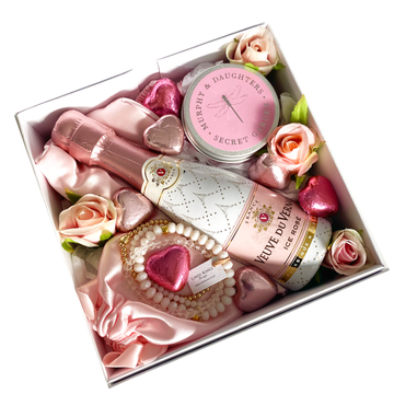Blush Rose Treats-Gift Boxes and sweet treats New Zealand wide-Celebration Box NZ