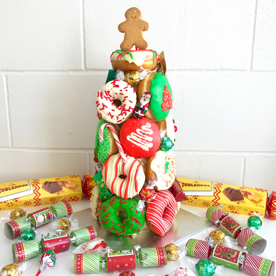 Christmas Donut Tower (PICK UP ONLY)