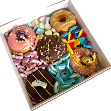 Classic Donut Boxes-Gift Boxes and sweet treats New Zealand wide-Celebration Box NZ