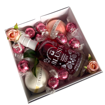 Blush and Bubbles-Gift Boxes and sweet treats New Zealand wide-Celebration Box NZ