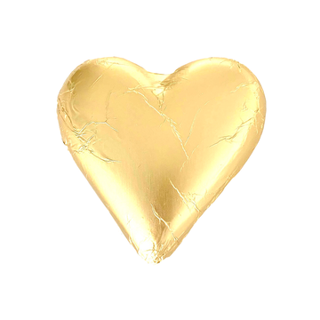 ADD ON: Gold Devonport Milk Chocolate Heart 30g-Gift Boxes and sweet treats New Zealand wide-Celebration Box NZ