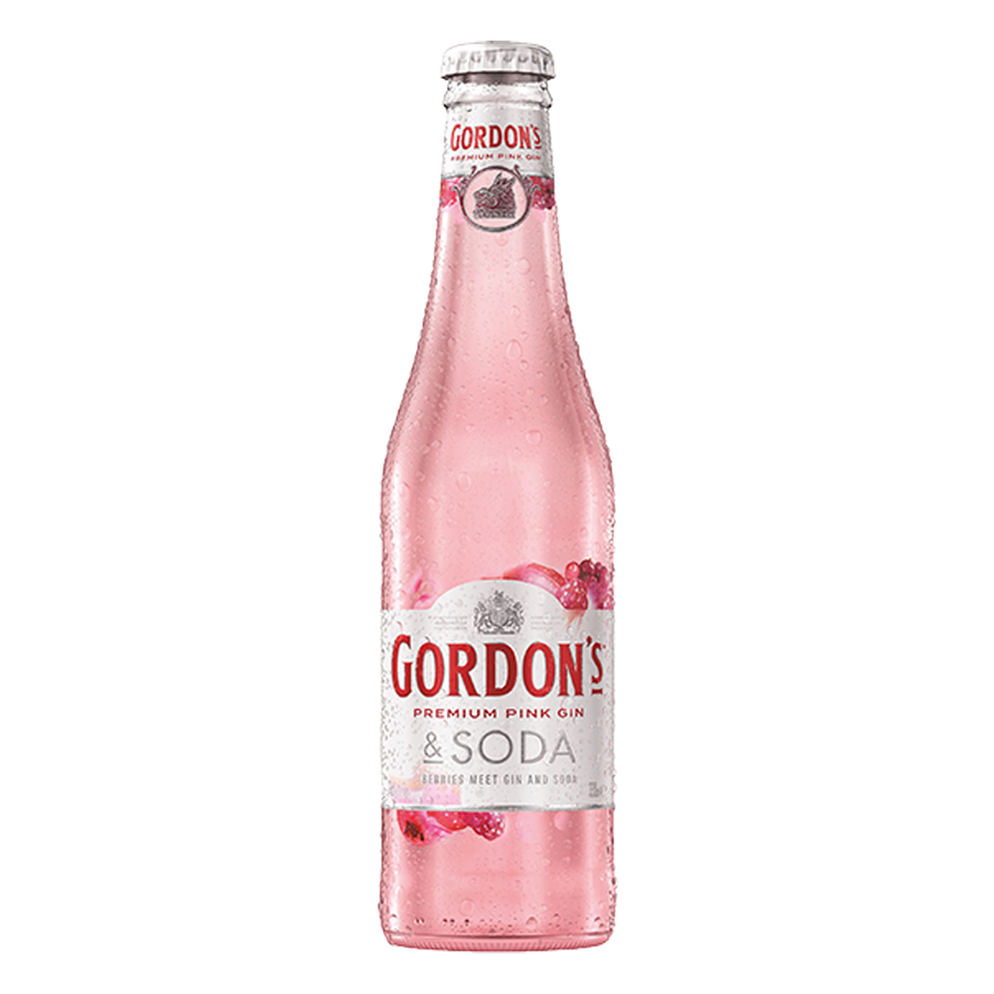 ADD ON: Gordons Pink Gin 330ml-Gift Boxes and sweet treats New Zealand wide-Celebration Box NZ