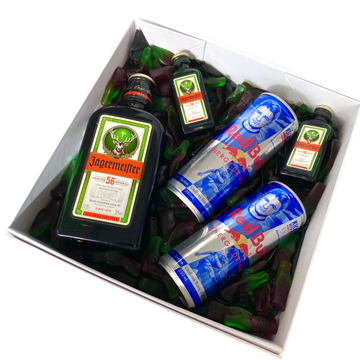 Jagerbomb-Gift Boxes and sweet treats New Zealand wide-Celebration Box NZ