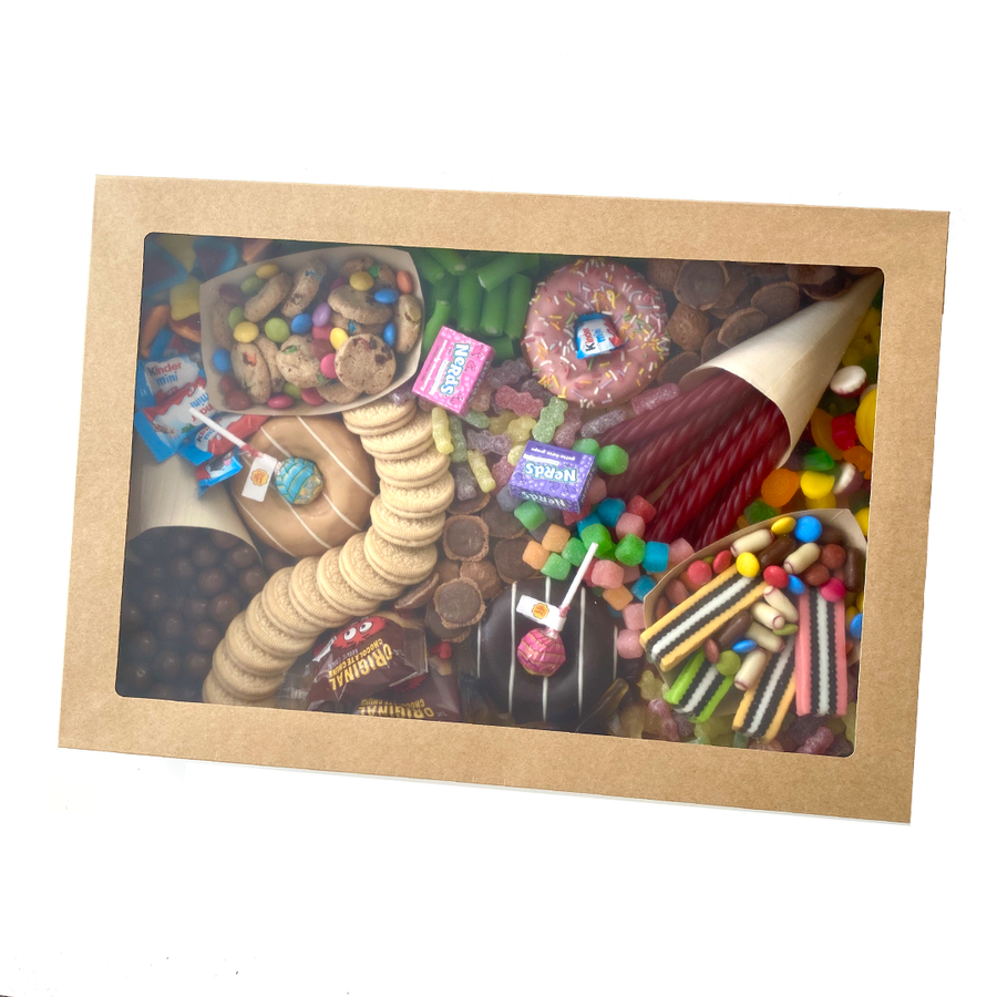 Candy Platter (Auckland Only)-Gift Boxes and sweet treats New Zealand wide-Celebration Box NZ