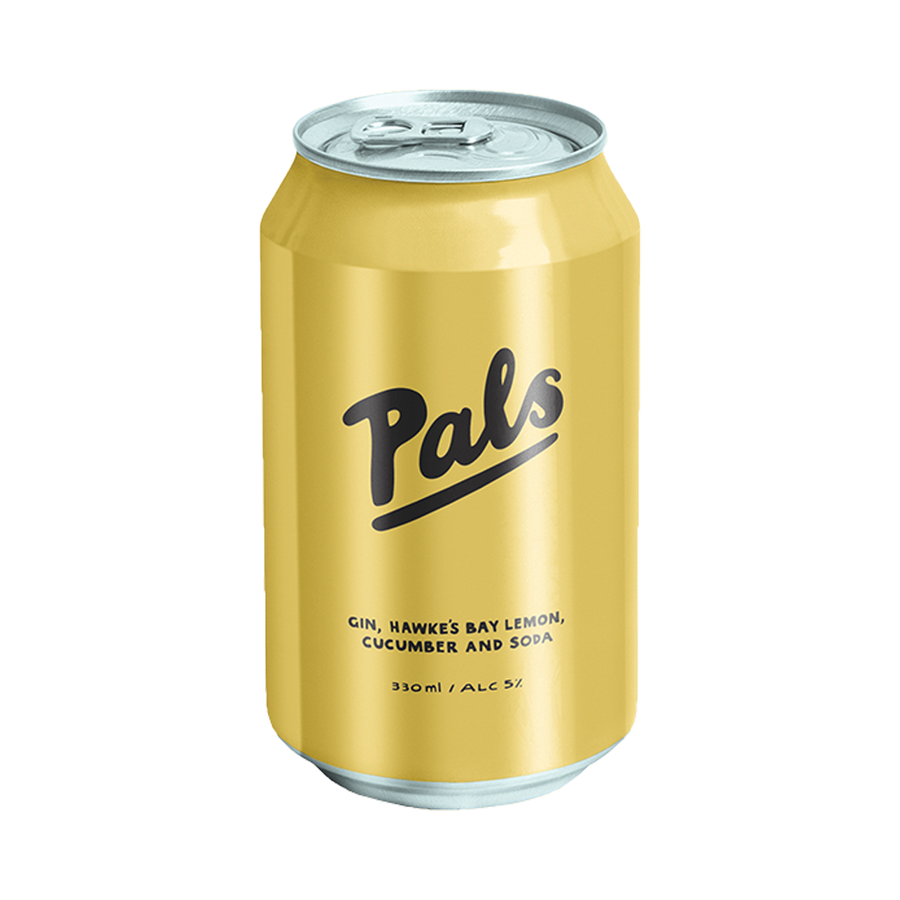 ADD ON: Pals Can Yellow 330ml