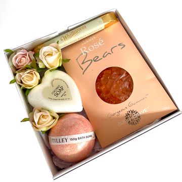 Peachy Kiss-Gift Boxes and sweet treats New Zealand wide-Celebration Box NZ