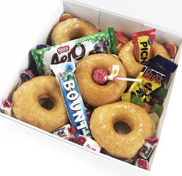 Glazed Donut Box - Candy Base