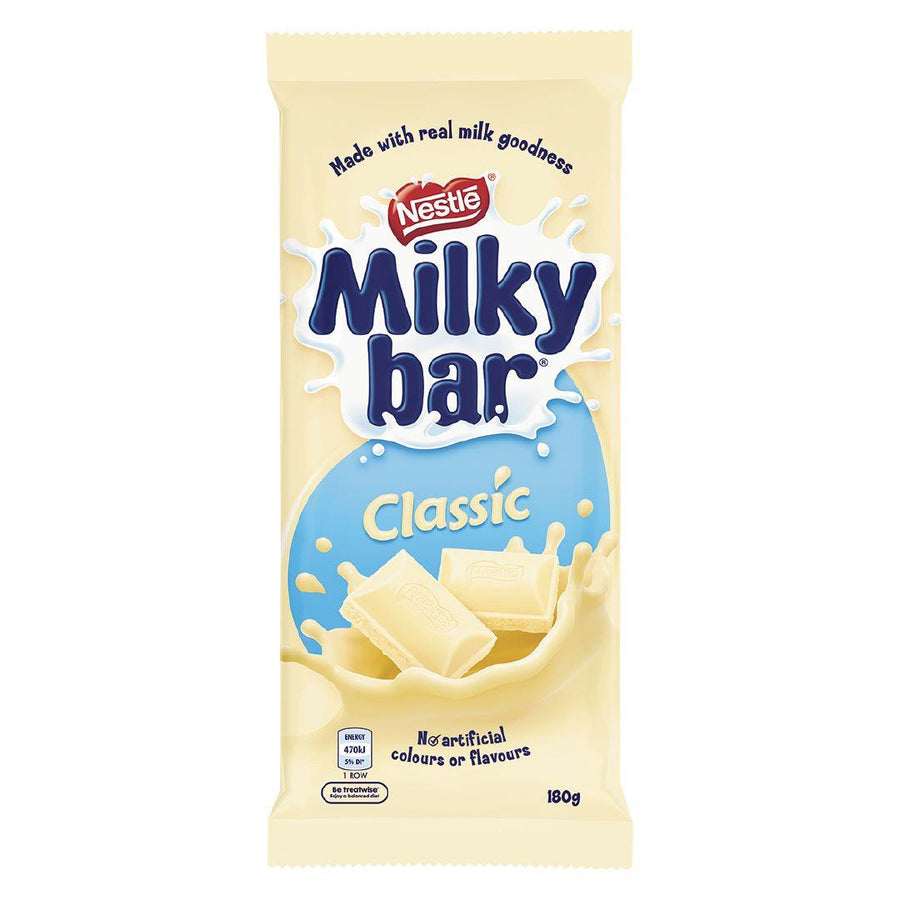 ADD ON: Milky Bar Block
