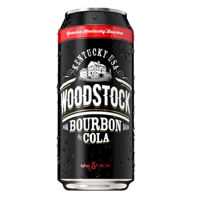 ADD ON: Woodstock Bourbon & Cola 440ml Can