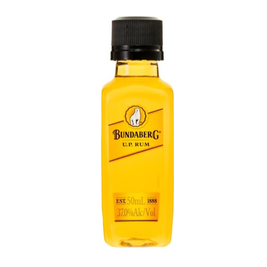 ADD ON: Miniature BundabergU.P. Rum 50ml