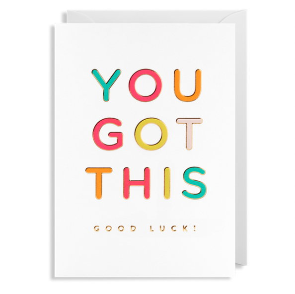 ADD ON: Good Luck Card