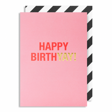 ADD ON: Pink Birthday Card