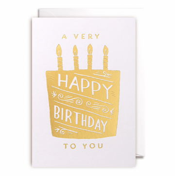 ADD ON: Happy Birthday To You Card