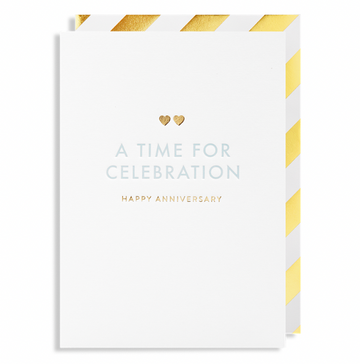 ADD ON: Anniversary Card-Gift Boxes and sweet treats New Zealand wide-Celebration Box NZ