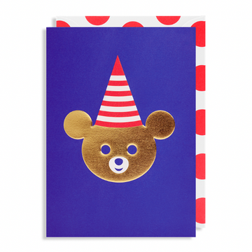 ADD ON: Bear Birthday Card