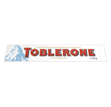 ADD ON: White Toblerone 360g