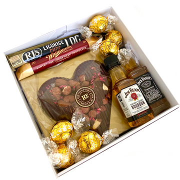 Whisky Indulgence-Gift Boxes and sweet treats New Zealand wide-Celebration Box NZ