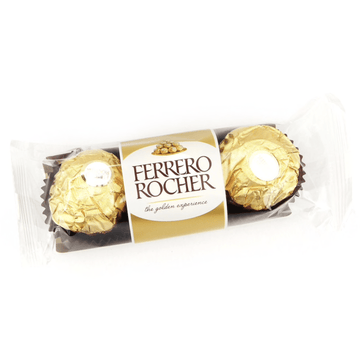 ADD ON: 3 Pack of Ferrero Rocher