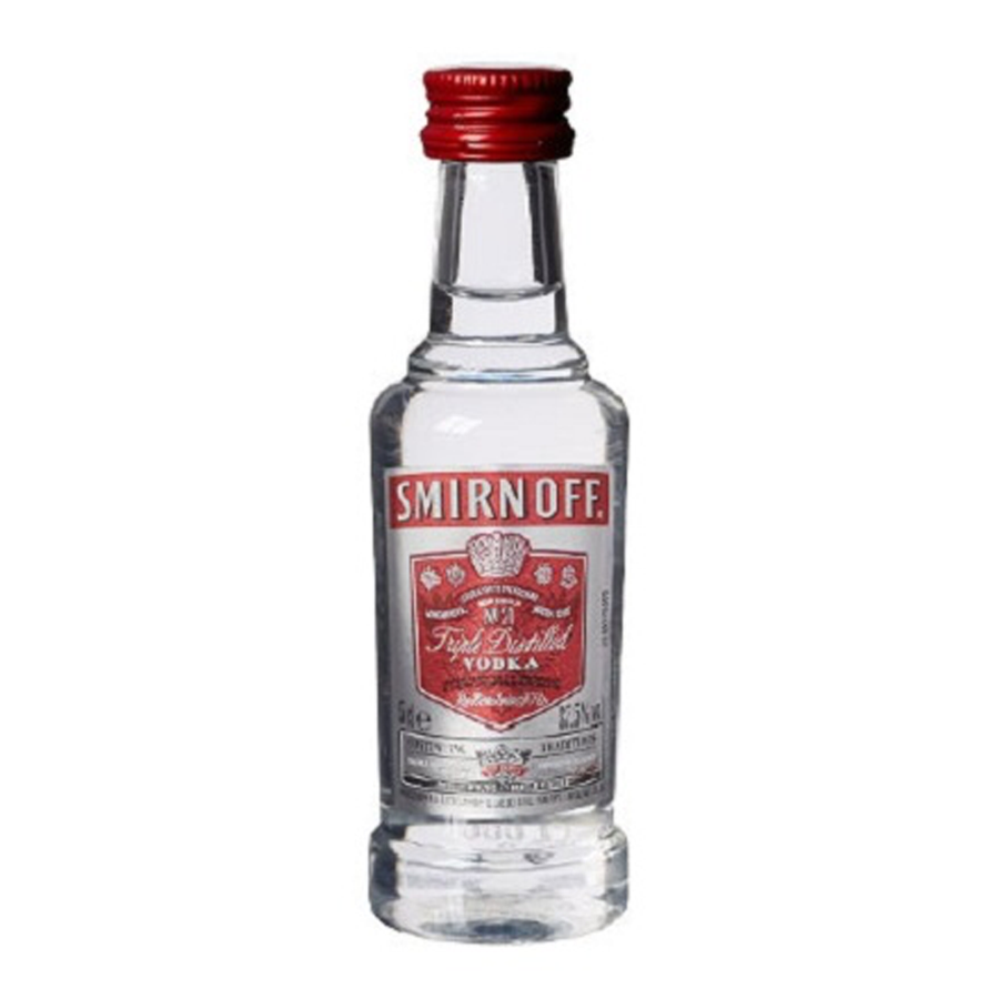 ADD ON: Miniature Smirnoff Vodka 50ml