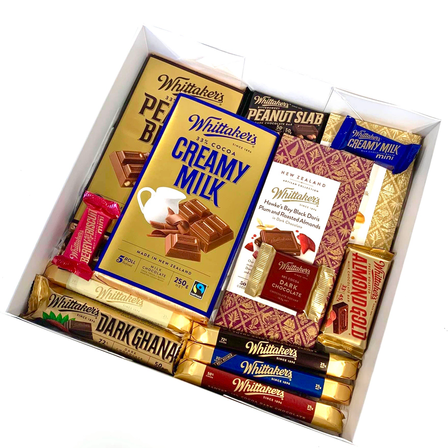 Whittaker's Lovers-Gift Boxes and sweet treats New Zealand wide-Celebration Box NZ