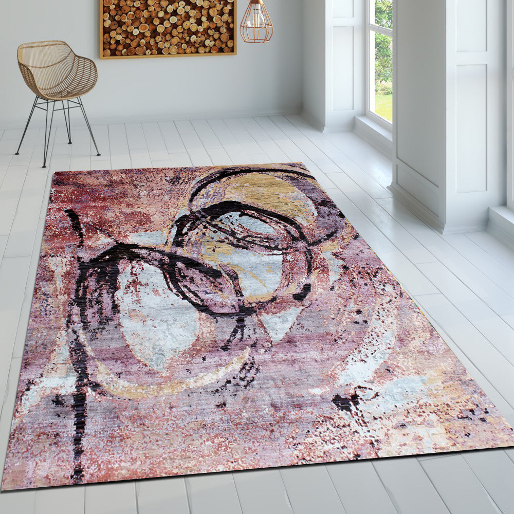 Rosa turca - Abstract In stock rugs