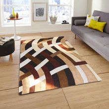 java - the simple brown area rug