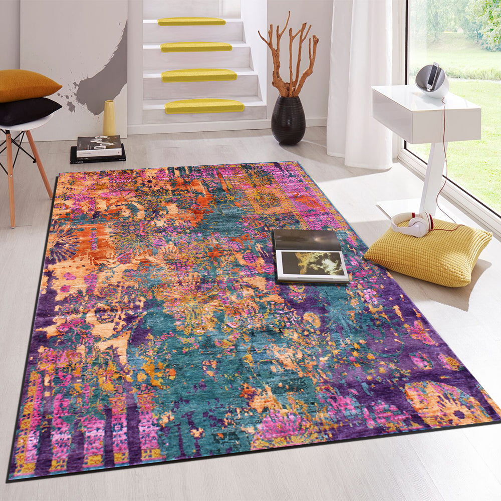 Mirtillo- abstract In stock rugs