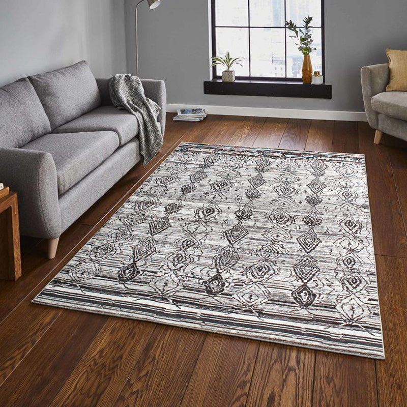 Gris kometa - Pattern In stock rugs
