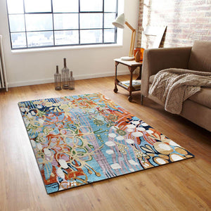 Multkolora floro -  Abstract In stock rugs