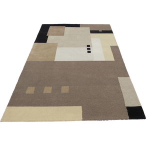 Implico - This modern hand made rug