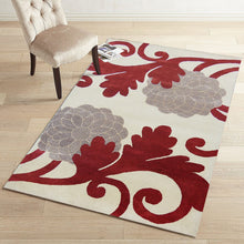 Vitis - The wine patterned indoor area rug