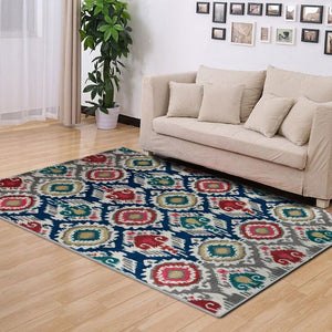 Luculentus - A bright colored rural design carpet
