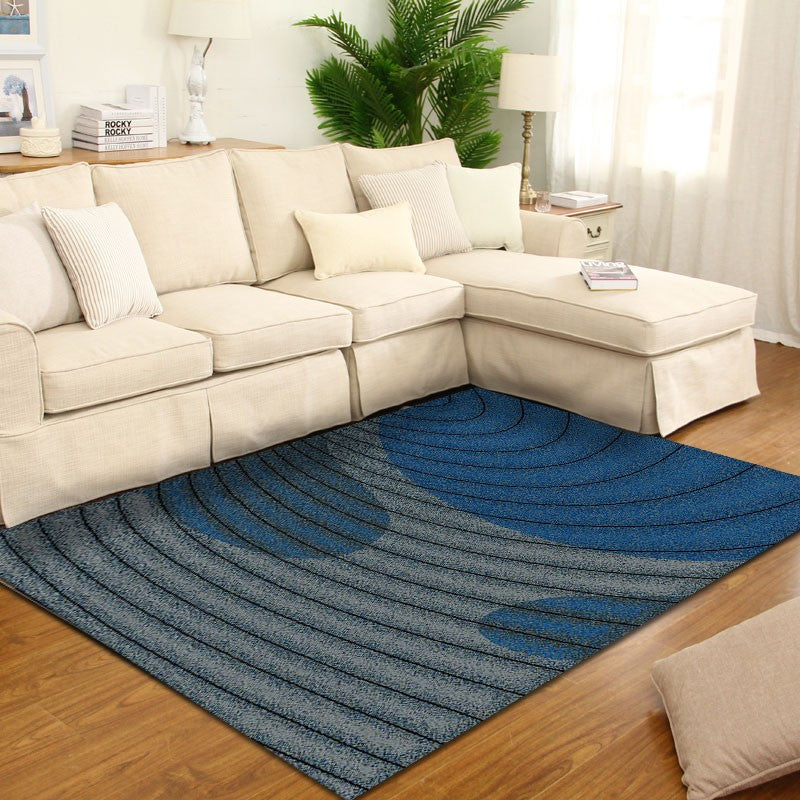 Sapphire - The blue hand woven indoor area rug