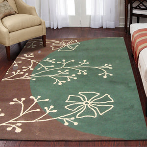 Hibiscus - The simple beautiful area rug