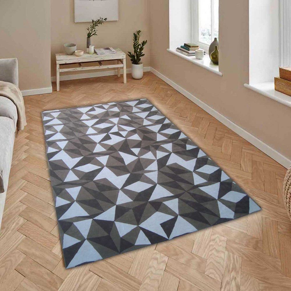 Dague - The contemporary gray area rug