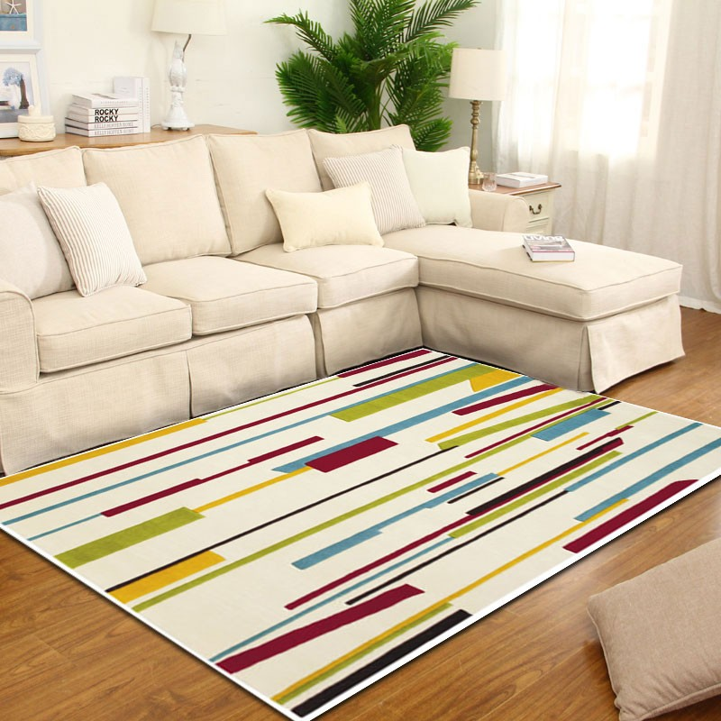 Grafika - The colorful and simple living area rug.