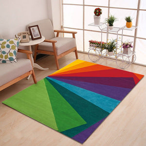 Arc-en-ciel - A lovely rainbow rug for your space